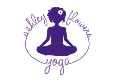 Ashley Flowers Yoga logo