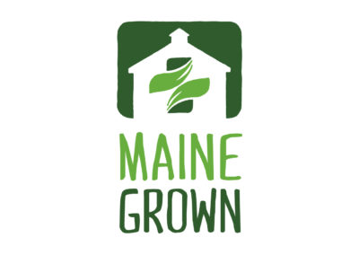 Maine Grown logo
