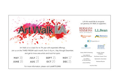 L/A Arts Art Walk