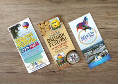 Great Falls Balloon Festival collateral
